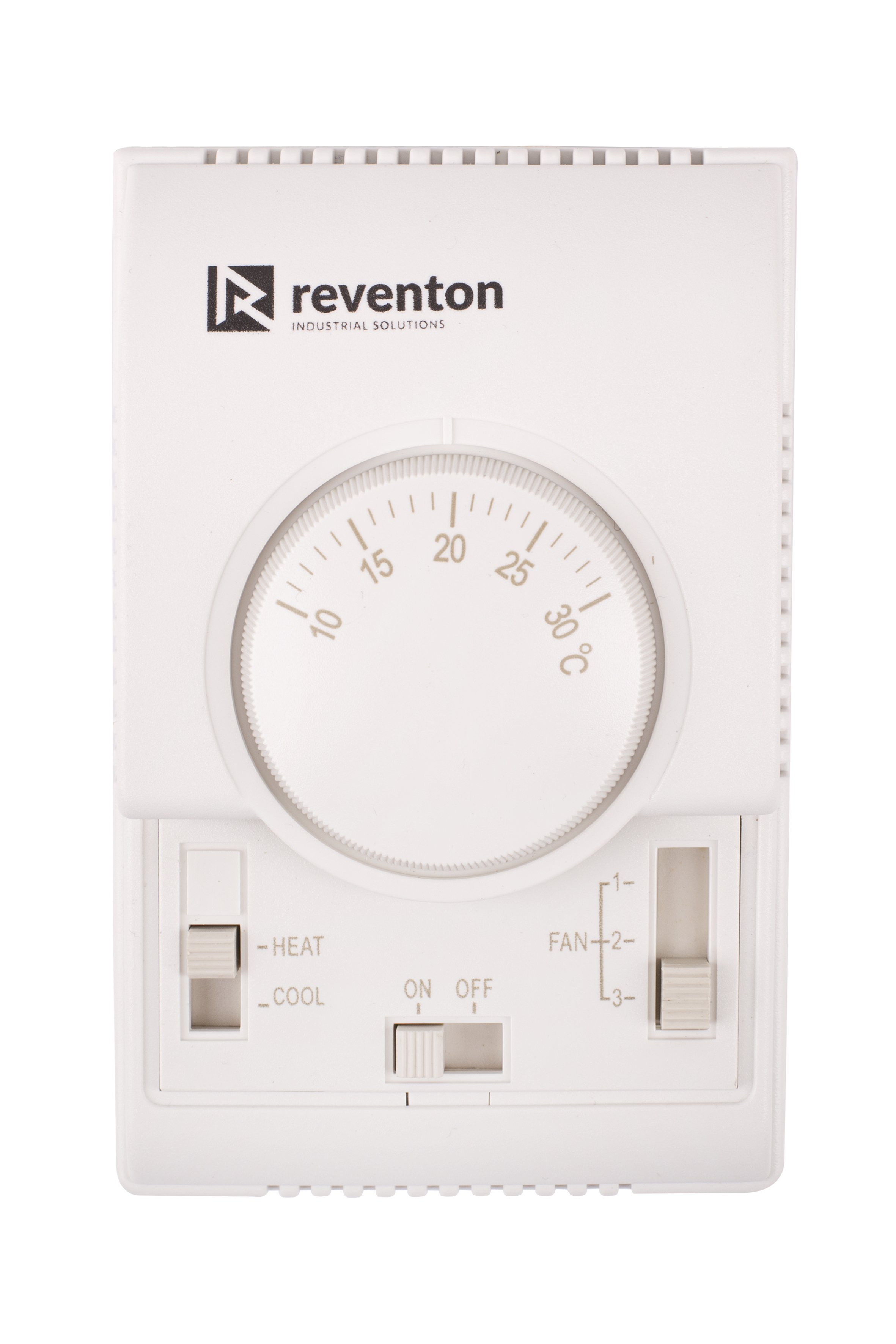 Accessories Reventon Temperature Controled Fan 3 Stage Adjustment Electric Valve And Thermostat Controlled Heat Cool Switch On Off Range 10c30 C Control Accuracy 1
